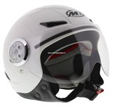 MT kinder retro helm Urban wit_
