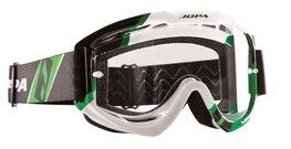 Jopa Crossbril Venom 2 Graphic zwart/wit/groen
