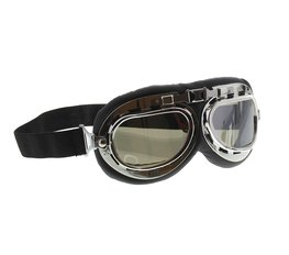 MKX Custom Bril Chroom met spiegellens