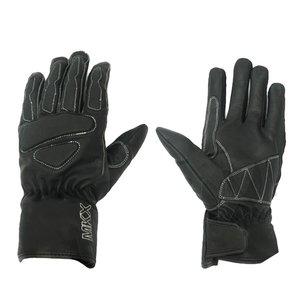 Handschuhe MKX Retro Leder schwarz